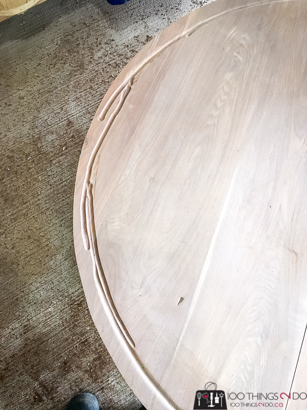router mistakes in coffee table surface