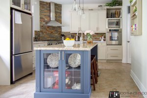 Kitchen makeover, painted cabinets, painting kitchen cabinets, Rust-Oleum cabinet transformation