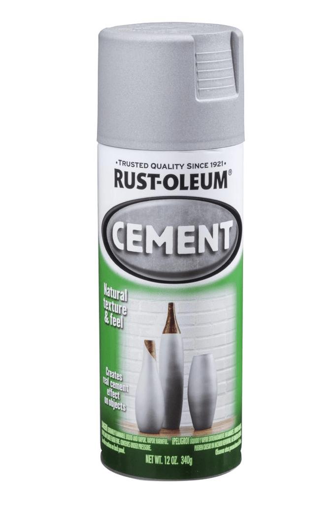 Rust-Oleum cement spray paint