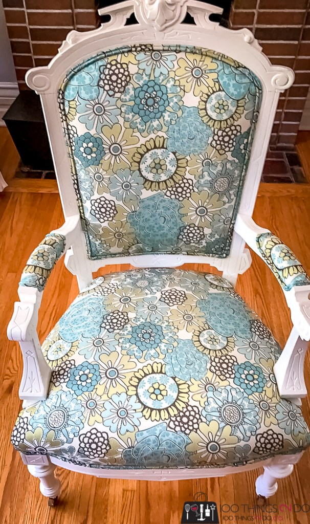 chair makeover, Dayna's chair, antique chair