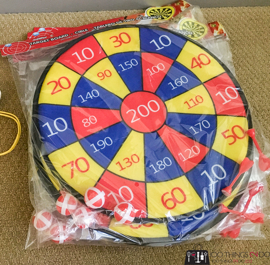 velcro dart board for sunshine bag