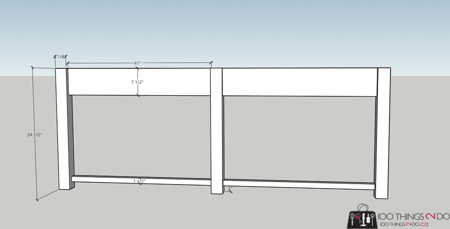 building plans for patio console table, building plans for barbecue table