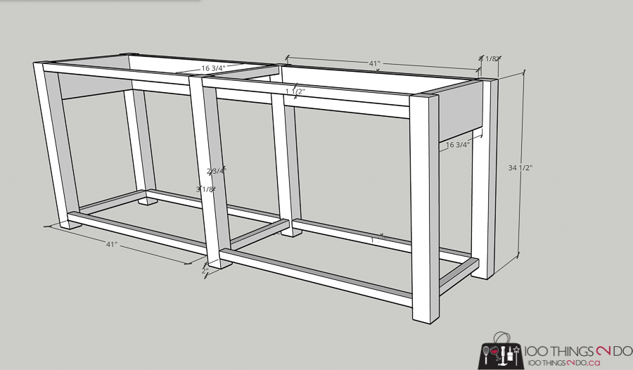 building plans for patio console table, building plans for barbecue table, building plans for bbq table