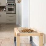 Raised dog dish, raised dog food stand, raised dog bowls