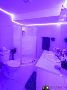 teen bathroom, teen girl bathroom, basement bathroom