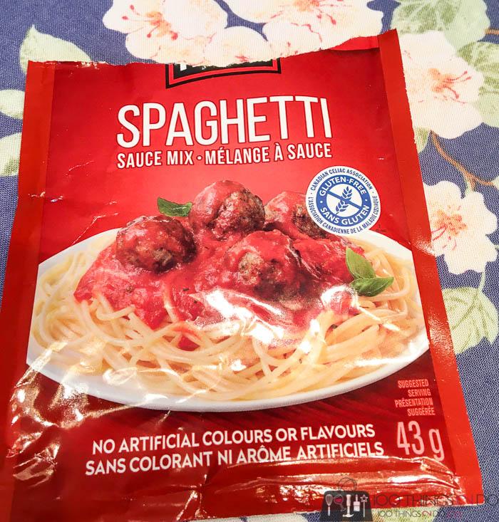 Clubhouse spaghetti sauce powder