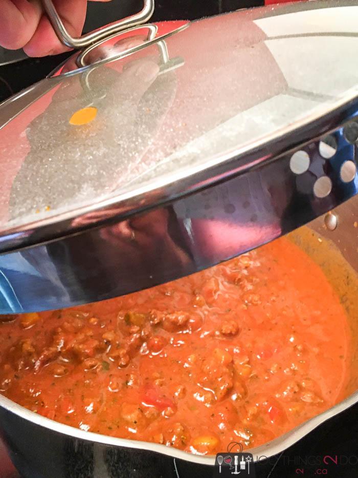 Aunty Edie's homemade spaghetti sauce