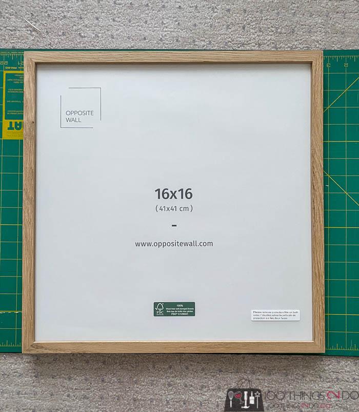 """16"""" x 16"""" frame"""