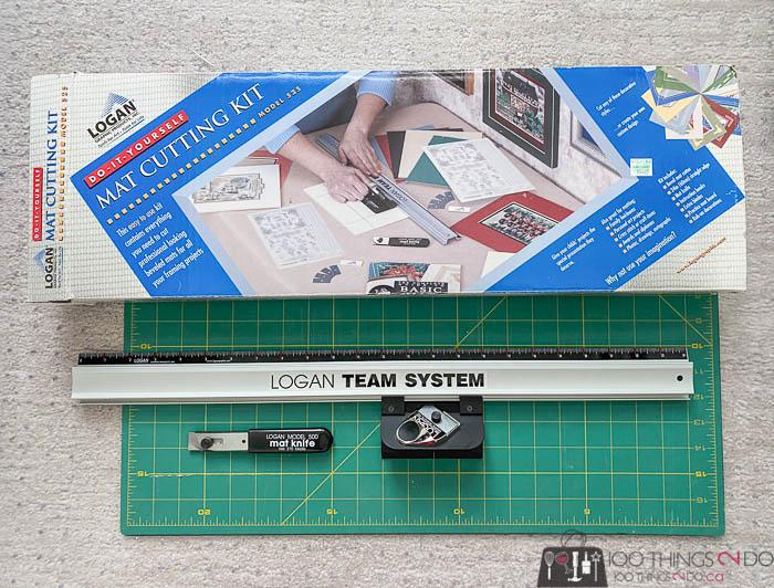 Logan Mat cutting kit