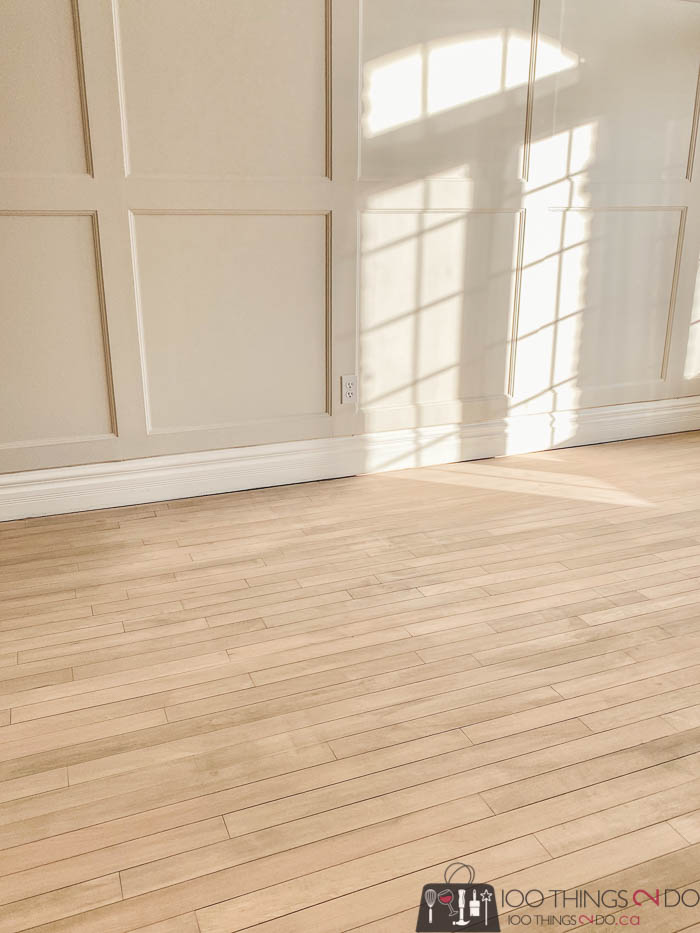 Refinishing hardwood floors, how to refinish hardwood flooring, DIY wood flooring makeover
