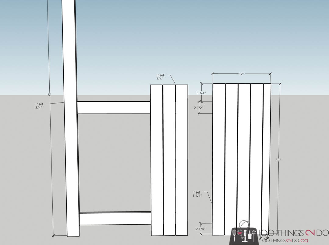 building plans for lemonade stand, DIY lemonade stand, folding lemonade stand, collapsible lemonade stand