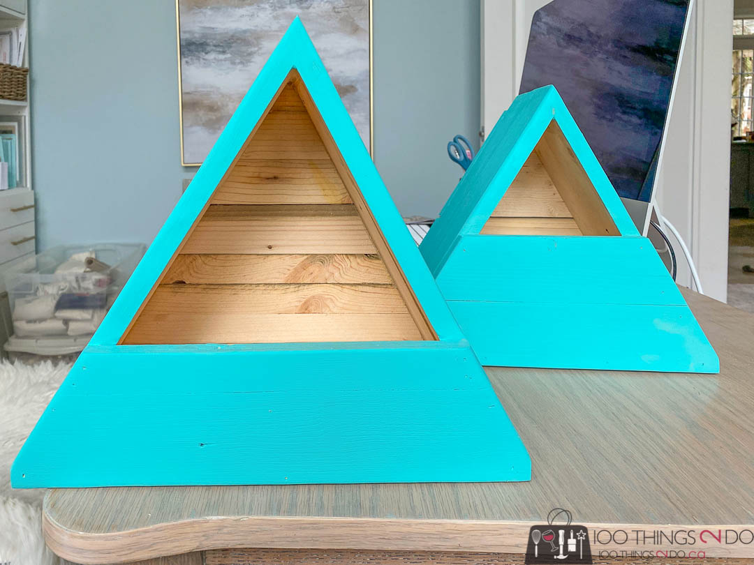 scrap wood nesting house, scrap wood birdhouse, DIY birdhouse, DIY nesting box