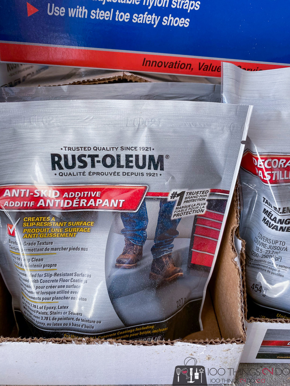 Rust-Oleum Anti-Skid additive
