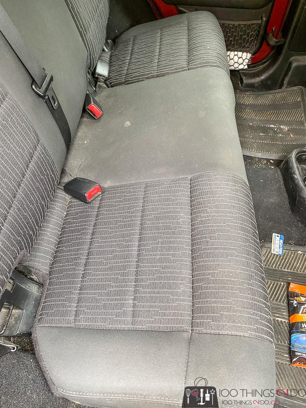 dirty jeep backseat