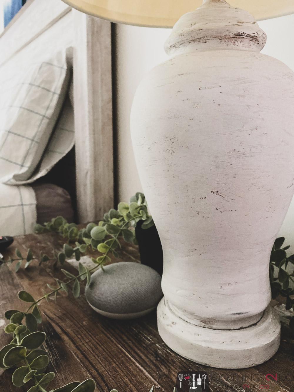 thrift store lamp makeover, antique lamp, DIY pottery lamp, DIY ceramic lamp