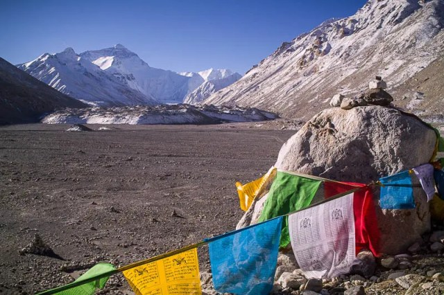 Everest North Base Camp, Tibet