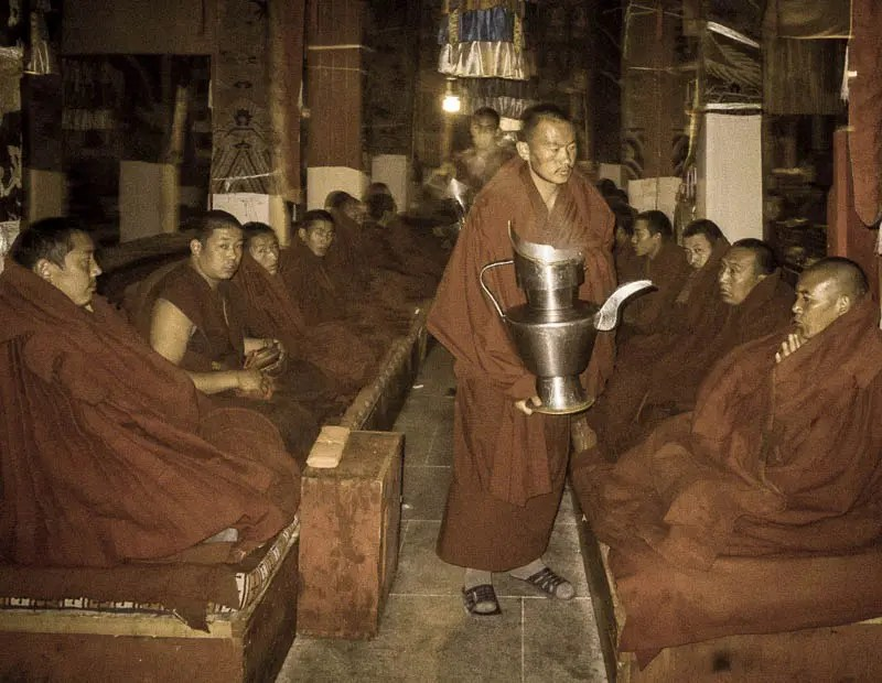 Monks ceremony