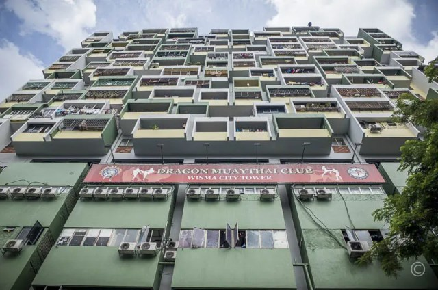 Apartment Building in Kuala Lumpur