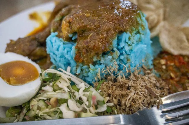 Blue Rice Specialty Dish