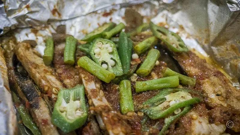 Grilled Stingray