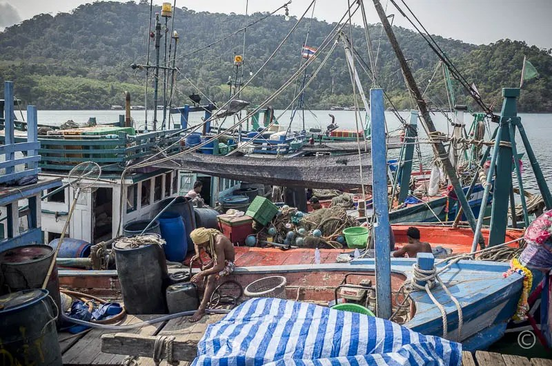 Fishermen in Ao Yai