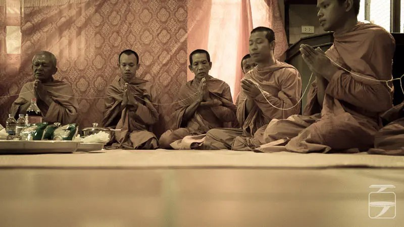 Buddhist house blessing ceremony