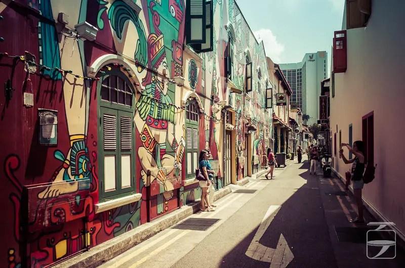Singapore to do: take a walk on the Haji Lane