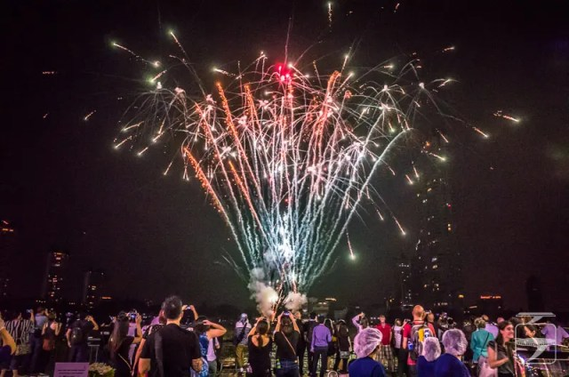 TBEX Bangkok fireworks