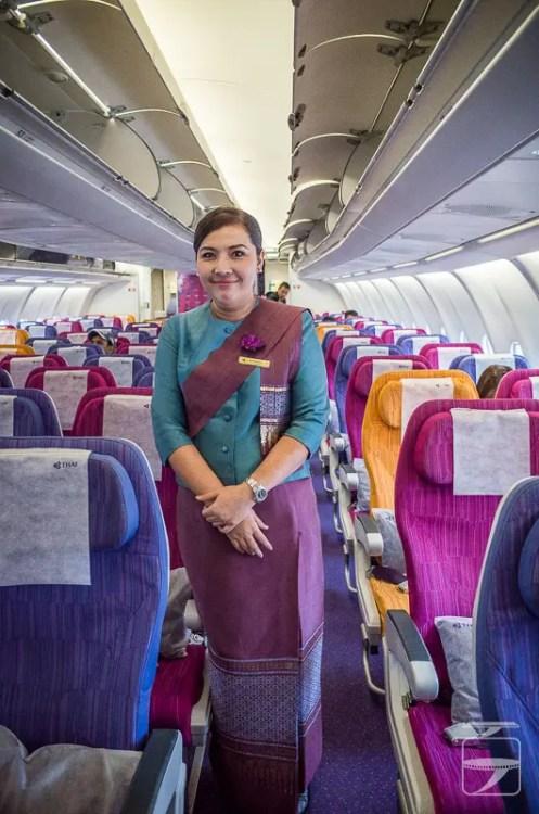 Thai Airways Stewardess