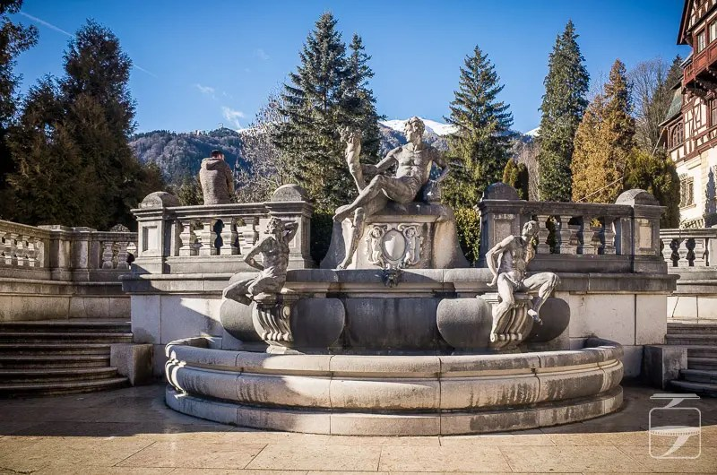 Peles Castle Fountain