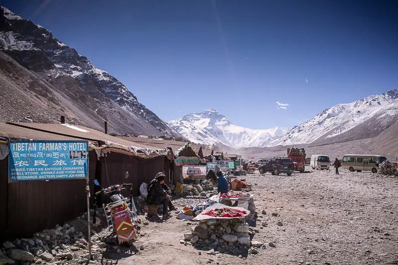 Base Camp tea houses