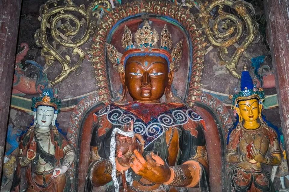 Palcho Monastery deities