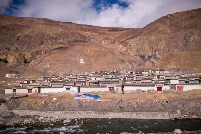 Gyantse village