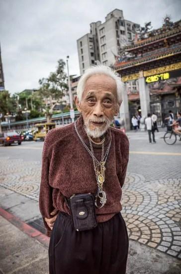 Stylish old man