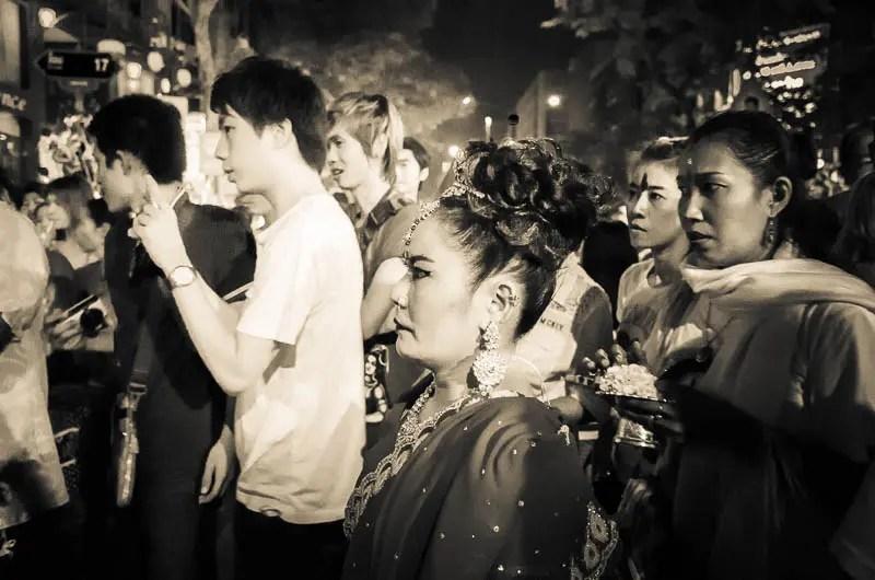 Ritual onlookers