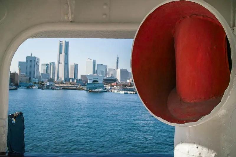 Window to Yokohama