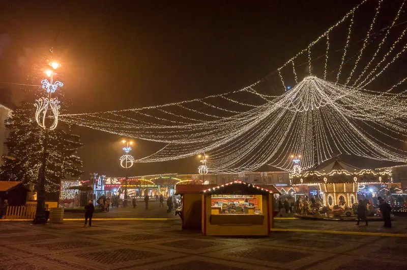 Christmas around the world: Sibiu, Romania