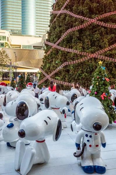Snoopy Christmas, Bangkok