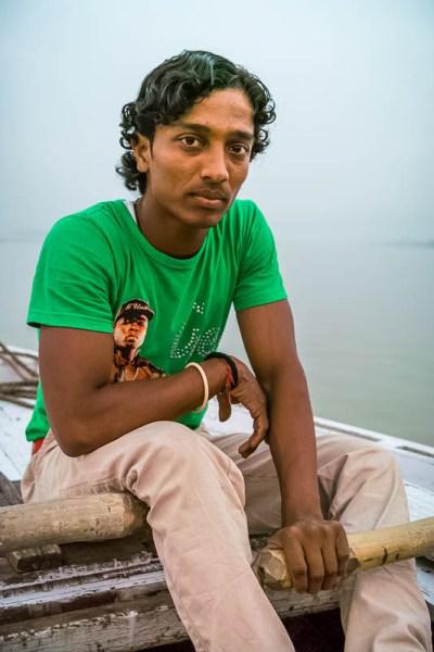 Boatman in Varanasi