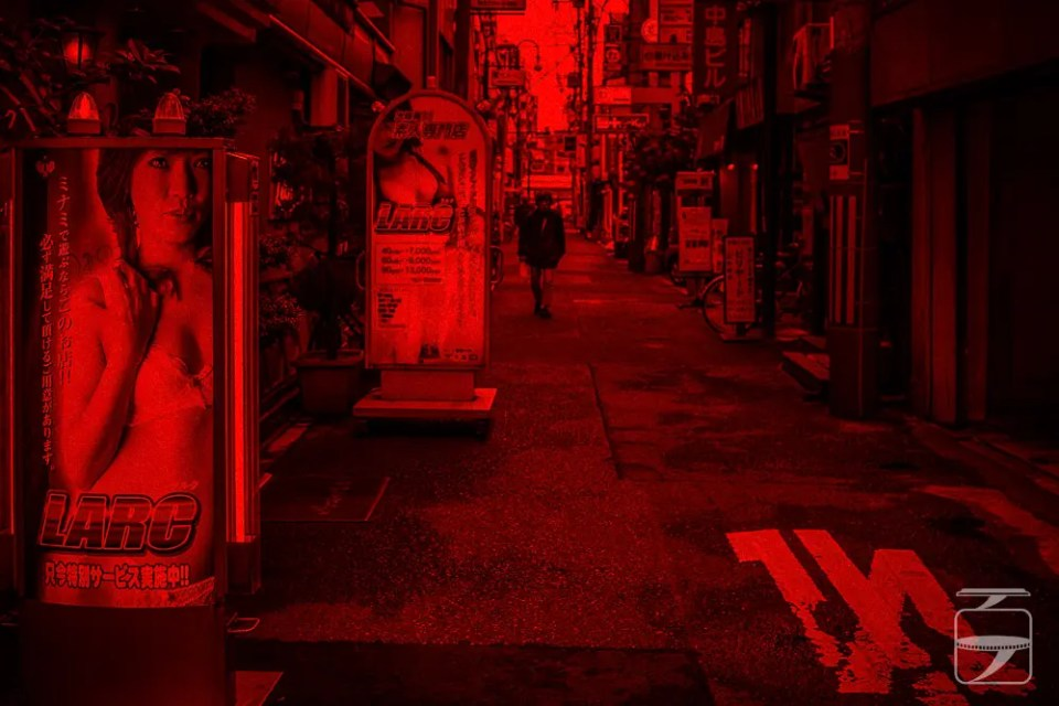 Red light district, Japan