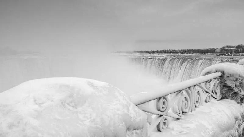 Niagara Falls view from Canada side