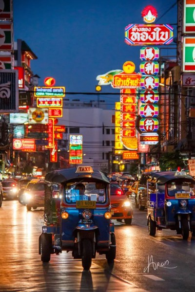 Tuk-Tuk Bangkok experience