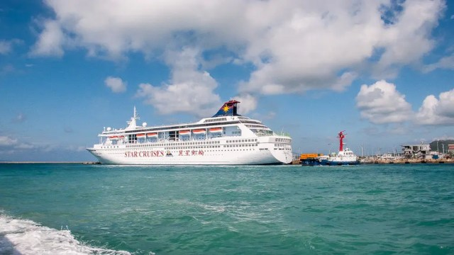 Okinawa cruise ship