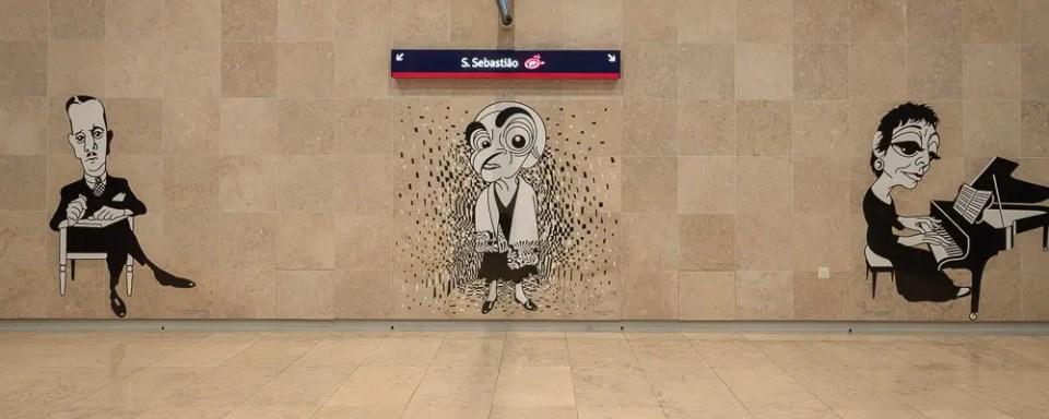 São Sebastião station - Lisbon Metro