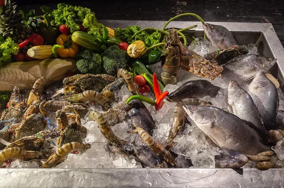 Seafood, Ao Nang