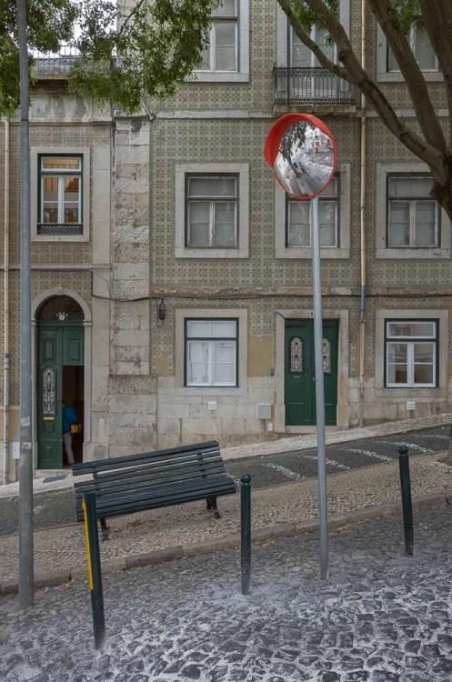 Lisbon uphill house