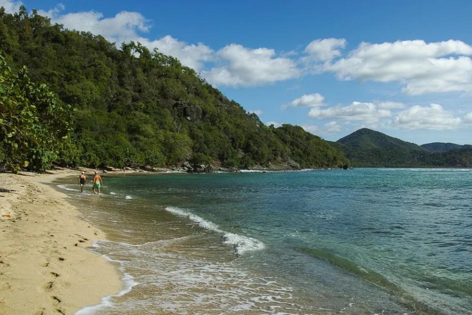 Brisas los Galeones beach