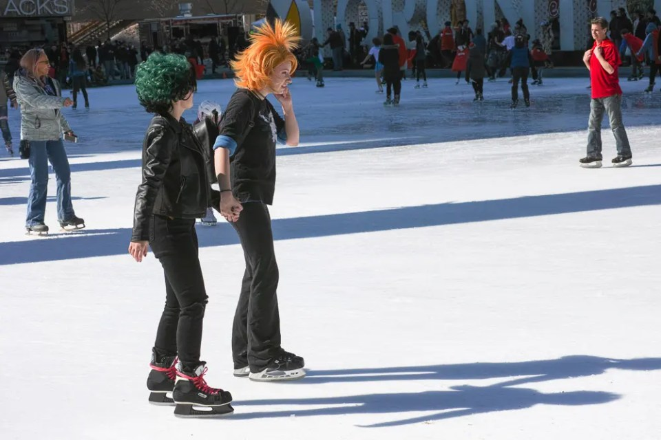 Cosplay on ice