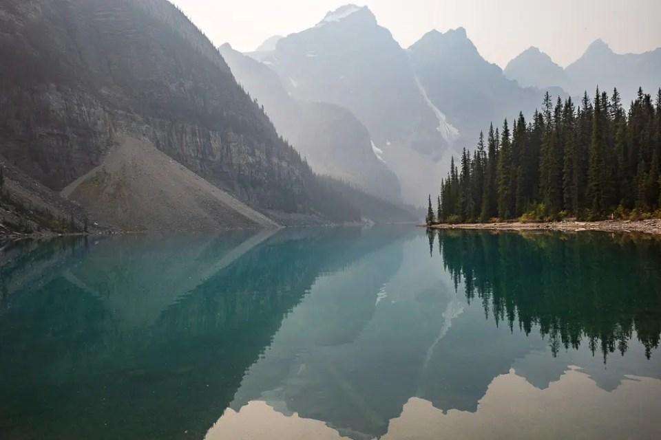 Lake Moraine reflections