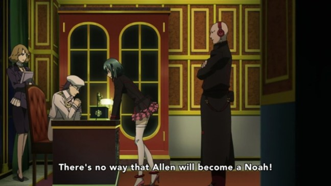 Image from D Gray Man Hallow Episode 11
